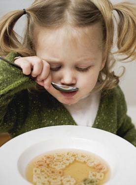 Kinderessen, Kinderverpflegung